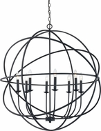 Trans Globe 70659-ROB Apollo Contemporary Rubbed Oil Bronze 36  Hanging Pendant Lighting