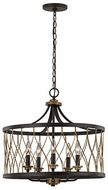 Trans Globe 70698-ROB Tahoe Contemporary Rubbed Oil Bronze Drop Ceiling Light Fixture