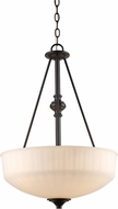 Trans Globe 70729-1-ROB Cahill Contemporary Rubbed Oil Bronze Pendant Lighting