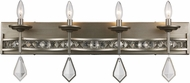 Trans Globe 70774-ASL Eli Antique Silver Leaf 4-Light Bathroom Sconce Lighting