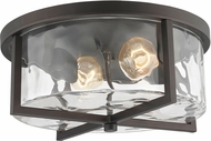 Trans Globe 71064-ROB Amberwood Contemporary Rubbed Oil Bronze Ceiling Light