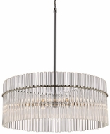 Trans Globe 71096-PC Vienna Modern Polished Chrome 30  Pendant Light Fixture
