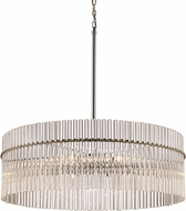 Trans Globe 71098-PC Contemporary Polished Chrome 36  Drum Drop Ceiling Lighting