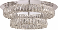Trans Globe 71155-PC Polished Chrome LED 23.75  Overhead Lighting