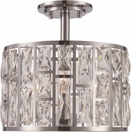 Trans Globe 71342-PC Vibrant Polished Chrome Flush Mount Lighting Fixture