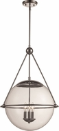 Trans Globe 71386-PC Jasper Contemporary Polished Chrome Hanging Light Fixture