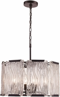 Trans Globe 71454-BK Crosswinds Contemporary Black 19  Drop Lighting