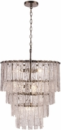 Trans Globe 71467-AB Milo Contemporary Antique Brass Ceiling Light Pendant