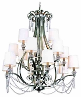 Trans Globe 7877 Young and Hip Corner I 15-light Chandelier