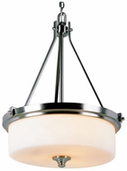 Trans Globe 7927-BN Richmond Modern Brushed Nickel Ceiling Pendant Light
