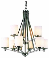 Trans Globe 7929 Young and Hip Corner II 9-light Contemporary Chandelier Light