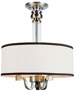 Trans Globe 7976-BN Montclair Brushed Nickel Ceiling Light