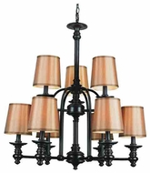 Trans Globe 9629 Modern Meets Traditional 9-light Style Chandelier