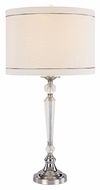 Trans Globe CTL-584 Polished Chrome 28 Inch Tall Table Lamp - Transitional