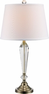 Trans Globe CTL-594-AB Laguna Antique Brass Lighting Table Lamp