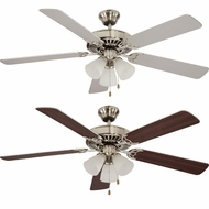 Trans Globe F-1005-BN Brushed Nickel Home Ceiling Fans