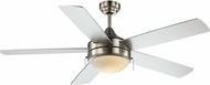 Trans Globe F-1006-BN Cappleman Brushed Nickel Home Ceiling Fan