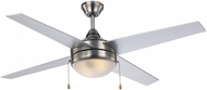 Trans Globe F-1014-BN Cappleman Brushed Nickel Home Ceiling Fan