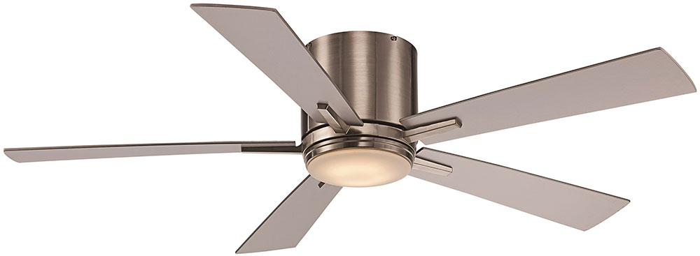 Trans Globe F 1017 Bn Contemporary Brushed Nickel Led Home