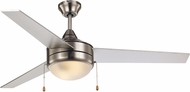 Trans Globe F-1023-BN Modern Brushed Nickel Ceiling Fan