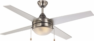 Trans Globe F-1024-BN Contemporary Brushed Nickel Home Ceiling Fan