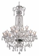 Trans Globe HX-12 PC Large 30 Inch Diameter 12 Candle Hanging Chandelier