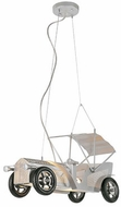 Trans Globe KDL-848 Daytona Contemporary Silver Hanging Light