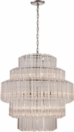 Trans Globe KO-13-PC Movement Modern Polished Chrome 26  Pendant Lighting Fixture