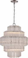 Trans Globe KO-7-PC Movement Modern Polished Chrome 20  Hanging Pendant Light