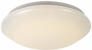 Trans Globe LED-10170-WH Slimline Contemporary White LED 11  Ceiling Lighting Fixture