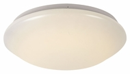 Trans Globe LED-10170 WH Small Flush Mount LED 11 Inch Diameter Overhead Lighting