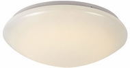Trans Globe LED-10171-WH Slimline Modern White LED 14  Ceiling Light Fixture