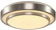 Trans Globe LED-10176-BN Future Contemporary Brushed Nickel LED Flush Lighting