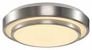 Trans Globe LED-10176 BN LED Modern 14 Inch Diameter Brushed Nickel Ceiling Lamp