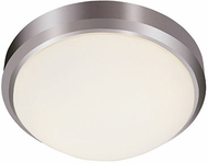 Trans Globe LED-13882-BN Bliss Contemporary Brushed Nickel LED 15 Overhead Light Fixture