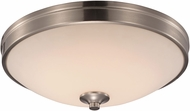 Trans Globe LED-30079-BN Brushed Nickel LED 11  Ceiling Lighting