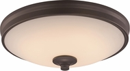 Trans Globe LED-30079-ROB Rubbed Oil Bronze LED 11  Ceiling Light Fixture