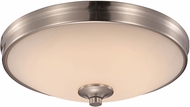 Trans Globe LED-30080-BN Brushed Nickel LED 13  Ceiling Lighting Fixture