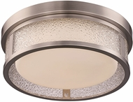 Trans Globe LED-30084-BN Contemporary Brushed Nickel LED 12 Overhead Light Fixture