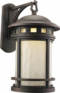 Trans Globe LED-40372-RT Boardwalk Rust LED Exterior 11  Wall Mounted Lamp