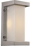 Trans Globe LED-40530-SL Capitol Contemporary Silver LED Outdoor 10 Sconce Lighting