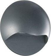 Trans Globe LED-40670-GRY Belmont Contemporary Gray LED Outdoor Wall Light Fixture