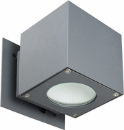 Trans Globe LED-40680-GRY Pinpoint Modern Gray LED Exterior Lighting Wall Sconce