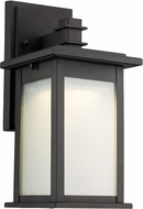 Trans Globe LED-40910-BK Laurel Modern Black LED Exterior Wall Sconce