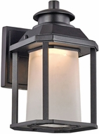 Trans Globe LED-40930-BK Southfield Black LED Exterior Wall Lighting