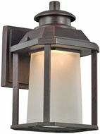 Trans Globe LED-40930-RT Southfield Rust LED Outdoor Sconce Lighting