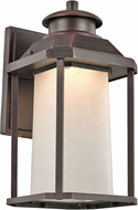 Trans Globe LED-40931-RT Southfield Rust LED Outdoor Lighting Sconce