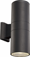 Trans Globe LED-40960-BK Compact Modern Black LED Exterior 10  Wall Light Fixture