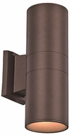 Trans Globe LED-40961-BZ Compact Modern Bronze LED Outdoor 4.5 Wall Light Sconce