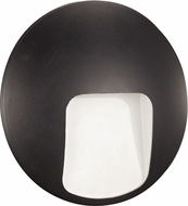 Trans Globe LED-40980-BK Oasis Modern Black LED Exterior Wall Mounted Lamp
